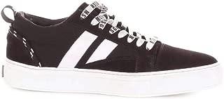 MSGM Luxury Fashion Mens 2440MS02BLACK Black Sneakers   Season Outlet