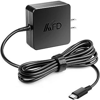 KFD 45W Type-C AC アダプター NEC VersaPro/VersaPro J PC-VP-BP122 ThinkPad X1 Carbon (2018モデル) ThinkPad X280 T480 T480s T470S T4...