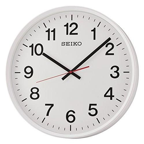 Seiko QXA700W Grandi Dimensioni Orologio da Parete con Sweep Second Lavorato a Mano, 47.8x 47.8x 9cm