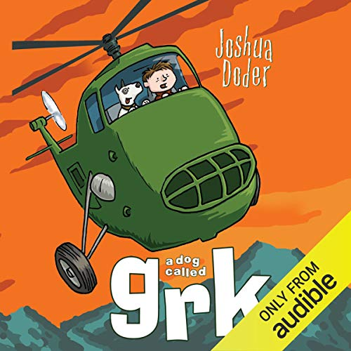 A Dog Called Grk audiobook cover art