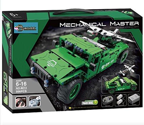 Dreamlock Feuerzeug Hummer Grün R/C 8013, 443 Teile