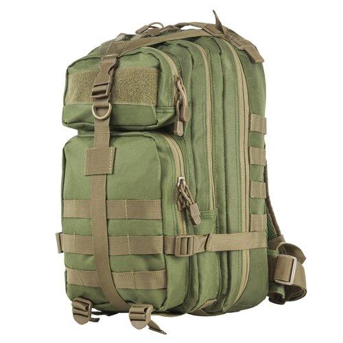 NcSTAR NC Star CBSGT2949, Small Backpack, Green W/Tan Trim