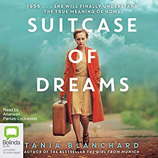 Suitcase of Dreams                   By:                                                                                                                                 Tania Blanchard                               Narrated by:                                                                                                                                 Arianwen Parkes-Lockwood                      Length: 13 hrs and 21 mins     24 ratings     Overall 4.5