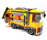Modbrix Bloques de construcción City de extracción de residuos camión, 281 bloques de construcción