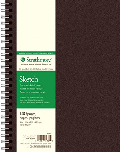 """Strathmore 400 Series Recycled Art Sketch Pad, 9""""x12"""