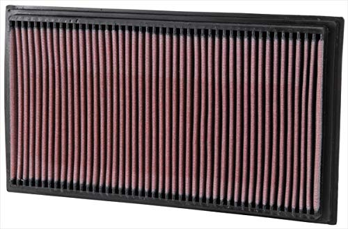 K&N 33-2747 Motorluftfilter: Hochleistung, Prämie, Abwaschbar, Ersatzfilter, Erhöhte Leistung, 1995-2003 (CLK430, CLK55 AMG, E200 Kompressor, E55, E220, E240, E250, E280, E290, E300, E320, E430)