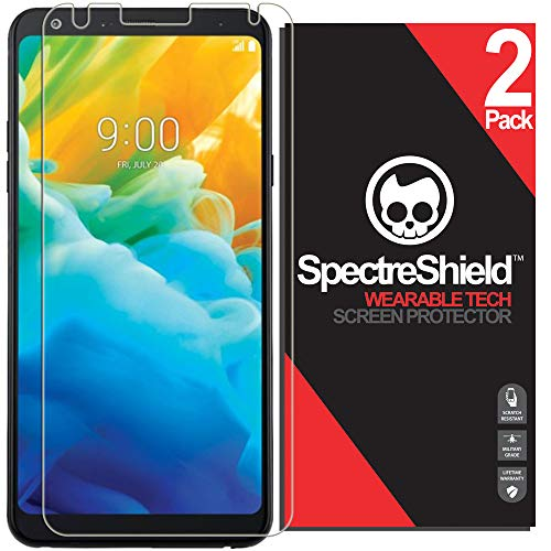 [2-Pack] Spectre Shield Screen Protector for LG Stylo 4 Case Friendly LG Stylo 4 Screen Protector Accessory TPU Clear Film