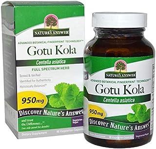 Nature's Answer, Gotu Kola, 950 mg, 90 Vegetarian Capsules