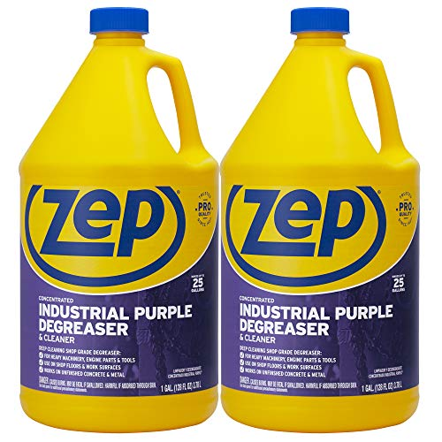 Zep Industrial Purple Degreaser and Cleaner 128 Ounce (Pack of 2)
