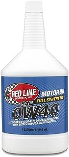 زيت المحرك 0W40 من ريد لاين 11104 - زجاجة بسعة 9.5 لتر