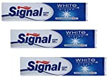 Signal White System Toothpaste 75ml (PACK OF 3)
