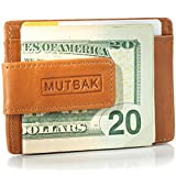 MUTBAK Bunker - Front Pocket Magnetic Money Clip Wallet with RFID/NFC Blocking (Moab)