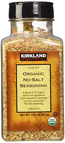 Kirkland Signature Organic No-Salt Seasoning, 14.5 Ounce
