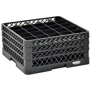 "Vollrath Traex Black Plastic 25 Compartment Dishwashing Rack with Three Open Extenders - 19 3/4""L x 19 3/4""W x 8 3/4""H (B06X9KWJ5P) | Amazon price tracker / tracking, Amazon price history charts, Amazon price watches, Amazon price drop alerts"