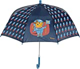 Playshoes DIE MAUS Jungen Maus Weltraum Regenschirm, Blau (Marine 11), One Size