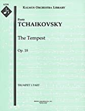 The Tempest, Op.18: Trumpet 1 and 2 parts [A2194]