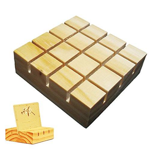 カードスタンド 木製 結婚式 ウェルカムカード立て、写真、POP、メッセージカード 立て メモ 挟む デスク 机上用品 文具 メモスタンド メモホルダー メモクリップ (ナチュラル 8個)