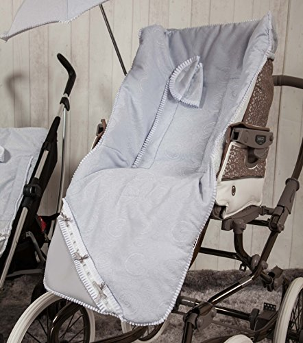 Babyline Bombón - Colchoneta para silla de paseo, color gris