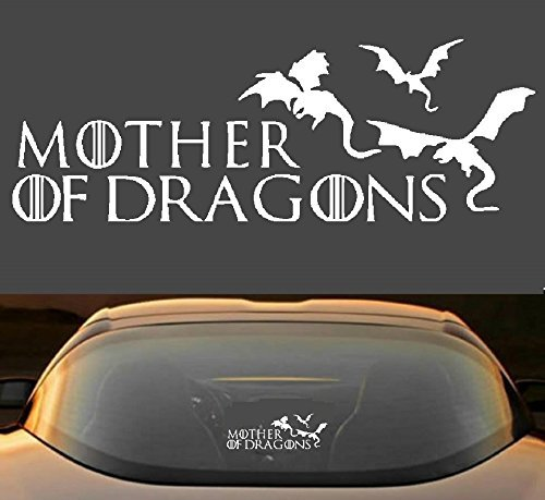 9  Game Of Thrones Mother Of Dragons Car Window Laptop Vinyl Decal Sticker