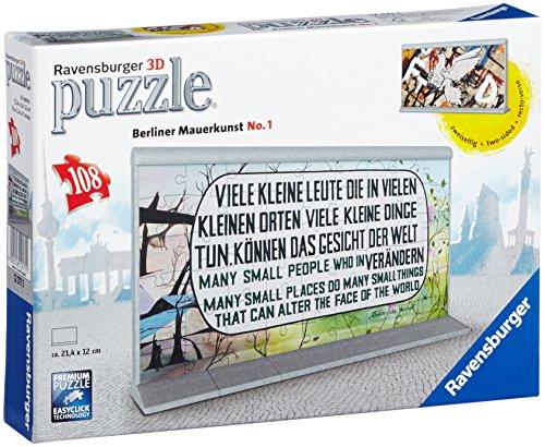 Ravensburger Spieleverlag - Accesorio para puzzle 3 D de 108 piezas: Muro de Berlin, n.1, (Ravensburger Spieleverlag 12571)