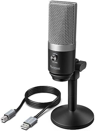 NanYin Fifine Microfono USB per Computer Portatili E Computer Mac per La Registrazione in Streaming di Twitch Voice su Youtube Podcast Skype K670 (Color : Black) - Trova i prezzi più bassi