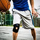 Winzone Knee Brace by ComfyMed Premium Adjustable Compression Support Sleeve CM-KB19 for Sport or Pain Relief #1