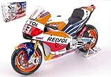 HONDA REPSOL RC213V M.MARQUEZ 2017 N.93 WORLD CHAMPION MOTOGP 1:10 - Maisto - Moto - Die Cast - Modellino