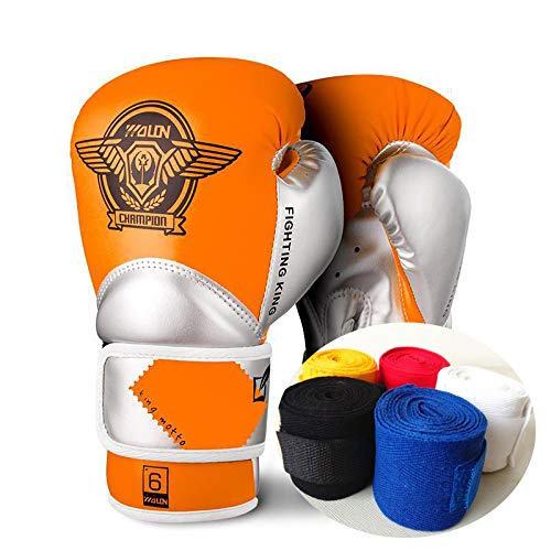 Boxhandschuhe Kinder 4oz 6oz Boxsack Handschuhe Boxbandagen 3 Bis 10 Jahre alt Muay Thai Taekwondo Sanda Fight