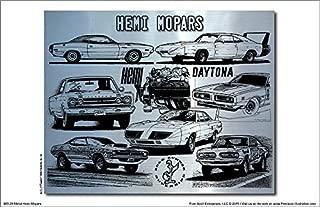 Hemi Mopars Metal Art