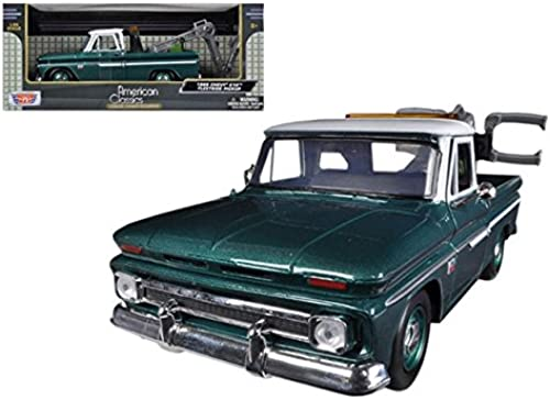 1966 Chevy C10 Pickup Abschlepper, MotorMax American Classics Auto Modell 1 24