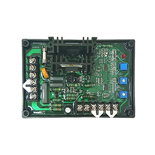 WOVELOT Universal 15A Sin Escobillas AVR GAVR-15A Universal 200KVA Generador AutomáTico Regulador de Voltaje Piezas GAVR 15A AVR