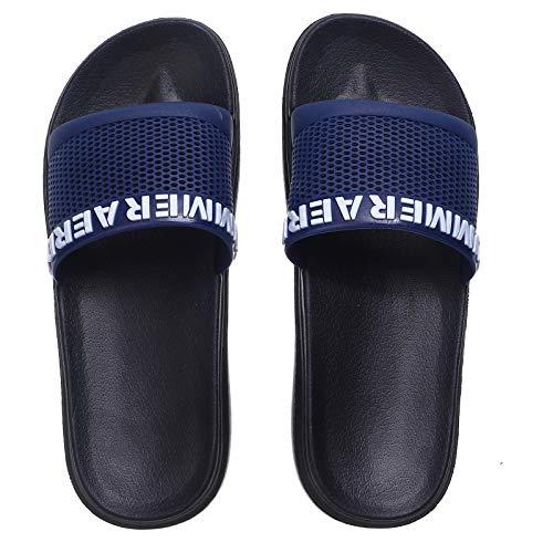 R-ISLAND Chanclas de goma para hombre, zapatos de playa, zapatillas de baño, chanclas de hombre de goma para adult de verano
