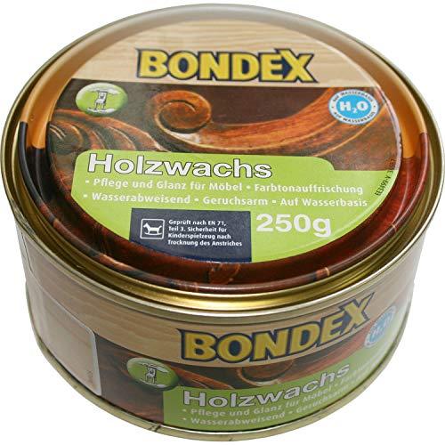 250g Bondex Holzwachs farblos Holz Wachs Möbel innen Pflege