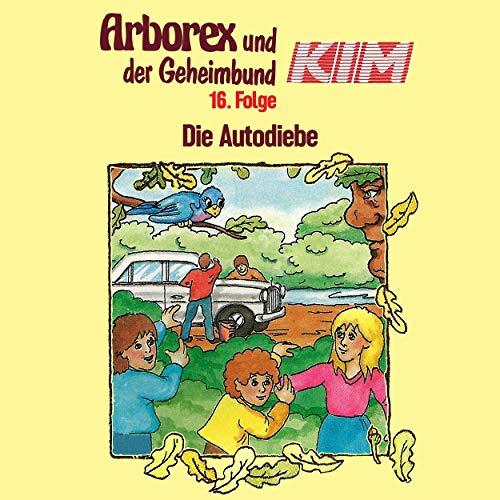 Die Autodiebe audiobook cover art