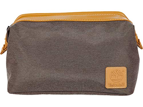Timberland Top Frame Chambray Travel Kit Brown One Size