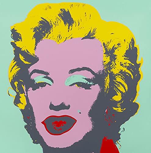 CloudShang Andy Warhol Pintura Sexy Mujer Retrato Poster Superestrella Avatar Foto Cuadro Moderno Actriz. Salon Dormitorio Tienda Pared Decoracion De la Lona Arte Cuadros I16109