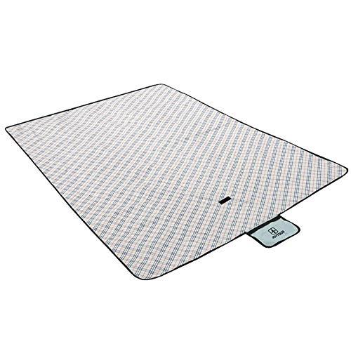 Giow Manta de Picnic Alfombra de Playa Alfombra de Tienda Oxford Picnic Blanket Ultralight Campig Tote Mat Camping Respaldo Impermeable Recubrimiento Impermeable Alfombra Exterior (Tamaño: 150x10