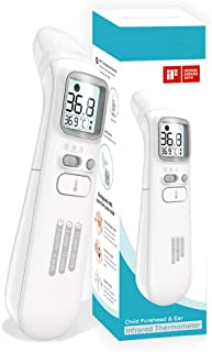 TGA Certified Baby Thermometer Forehead and Ear. Infrared Digital Thermometer IR. Clinical Accuracy Suitable for Baby, Inf...