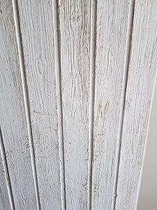 4 Panel Rustico Decorativa duelas en Poliuretano Alto 120 Ancho 70 Grueso 2.5 Decape. SE Puede MODIFICAR LA CANTIDAD.