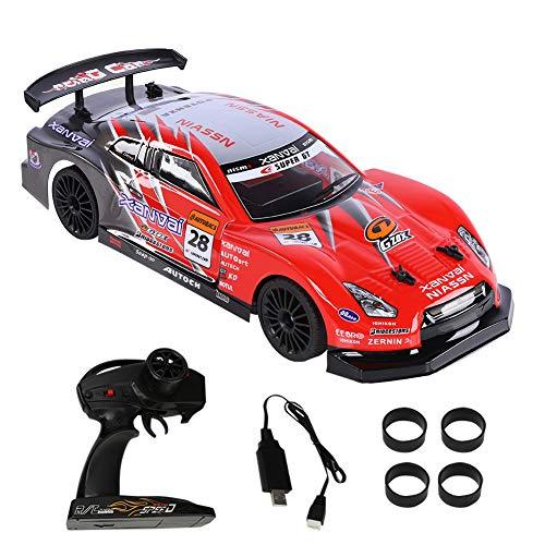 VGEBY1 RC Drift Racing Car, eléctrico 2.4G RC Control Remoto del vehículo Coche Sport Racing Drift Coche Vehículo de Juguete para niños Regalo