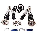 maXpeedingrods Ajustable Amortiguador Kits de Instalación de Suspensión Gris
