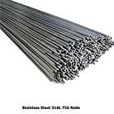 316L Stainless Steel <span class='highlight'>TIG</span> <span class='highlight'>Welding</span> Rods Filler Electrodes 1.0mm 1.2mm 1.6mm 2.0mm 2.4mm 3.2mm by BMF DIRECT® (100, 1.6mm)