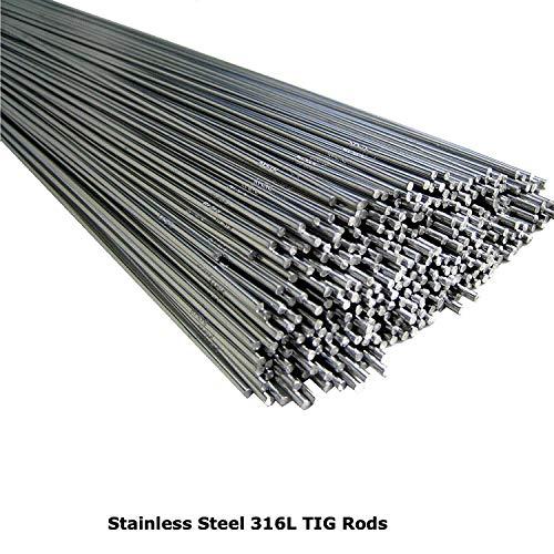 Varillas de soldadura TIG de acero inoxidable 316L de 1,0 mm, 1,2 mm, 1,6 mm, 2,0 mm, 2,4 mm, 3,2 mm, por BMF DIRECT®