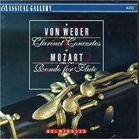 Weber: Clar Cto / Mozart: Rondo for Flute by LULACIK / BRATISLAVA SYM ORCH / LENARD
