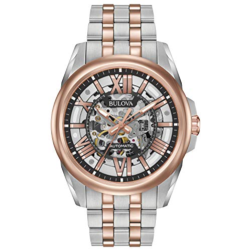 Bulova Men's Automatic-self-Wind Watch with Stainless-Steel...