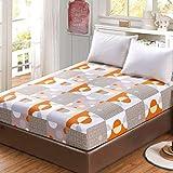 FF Tapis de Sol en Tatami de Couchage de 20 cm d'épaisseur, Coussin de Matelas pour dortoir d'étudiant Pliable pour Matelas de futon Japonais Souple (Couleur: A, Taille: 150 × 200 cm)