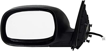 Left Driver Side Mirror for Toyota Sequoia SR5(2000 2001 2002 2003 2004 2005 2006 2007), Tundra (2003 2004 2005 2006) Unpainted Heated Folding Power Operated Outside Rear View Replacement Door Mirror