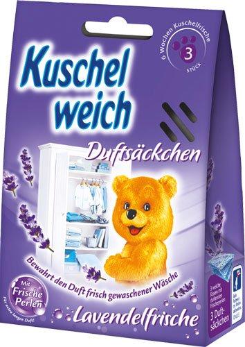 Kuschelweich 8X Lavendelfrische, Duftsäckchen