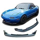 GT-Speed - GV Style Front PU Bumper Lip - Compatible with 1990-1997 Mazda Miata MX5