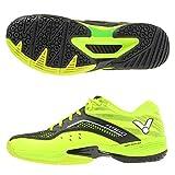 Victor - Zapatillas de bádminton de Sintético para Hombre Verde Verde y Negro, Color Verde, Talla 45 EU